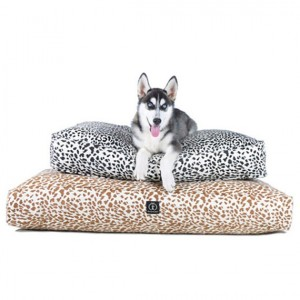 Soft Hemp Animal Print Rectangle Dog Beds