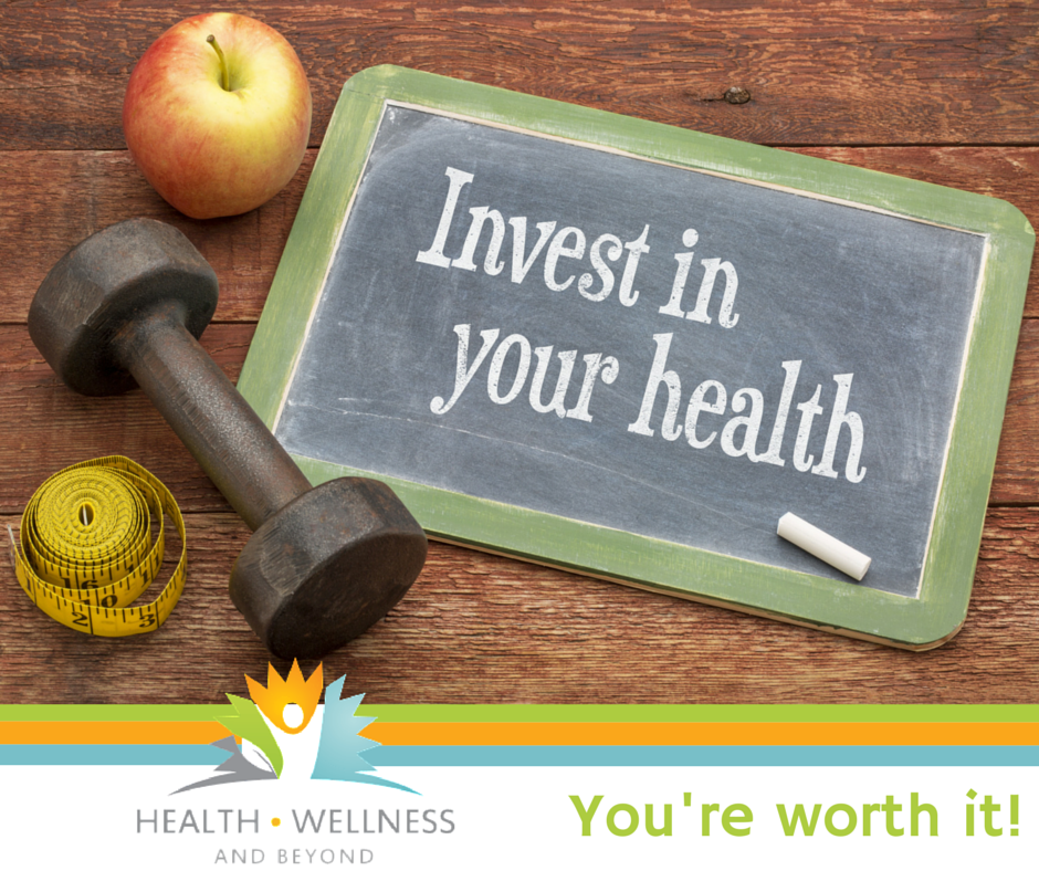 invest in your health sign